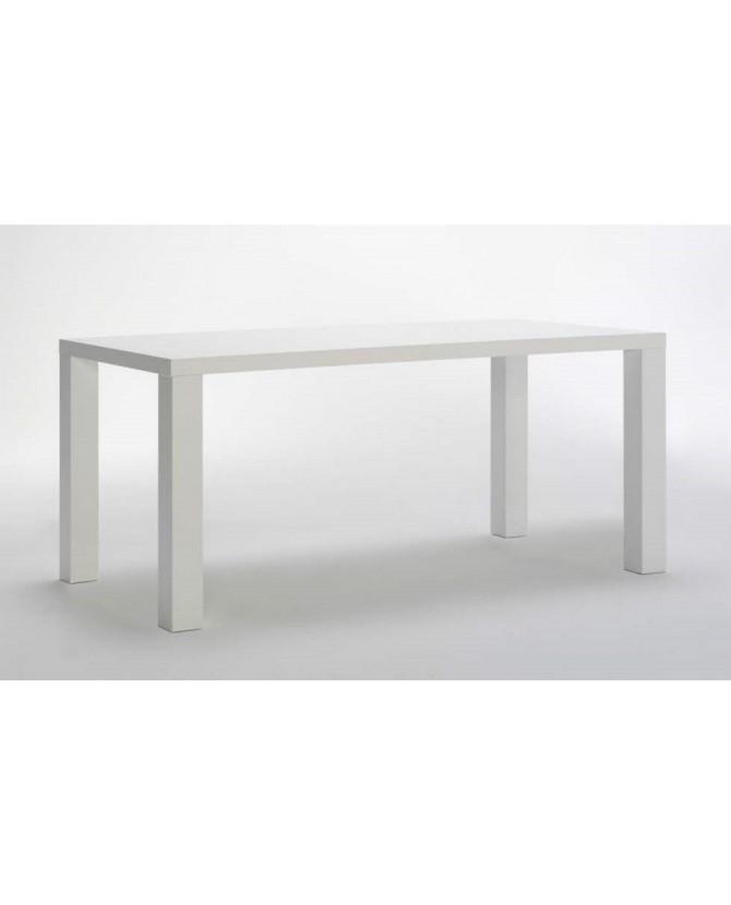 Tavolo Allungabile Laccato Bianco 140 200 X 90 X 79 Am