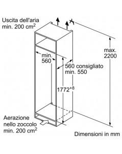 Neff frigorifero monoporta ki2822s30 - Frigorifero monoporta senza congelatore ...