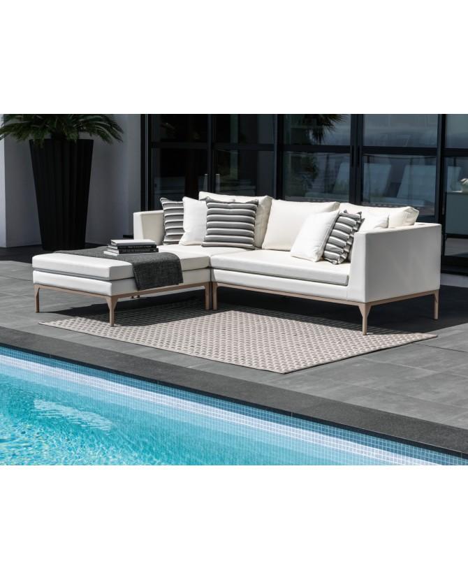 Talenti sof astor componibile struttura in alluminio for Divani outdoor outlet