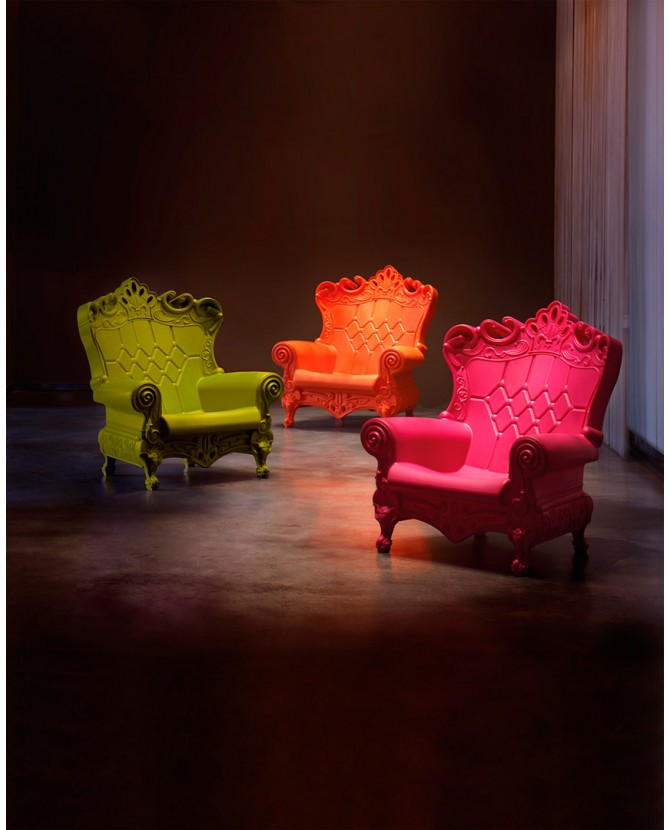 Slide Design Queen of Love poltrona in polietilene colori standard ...